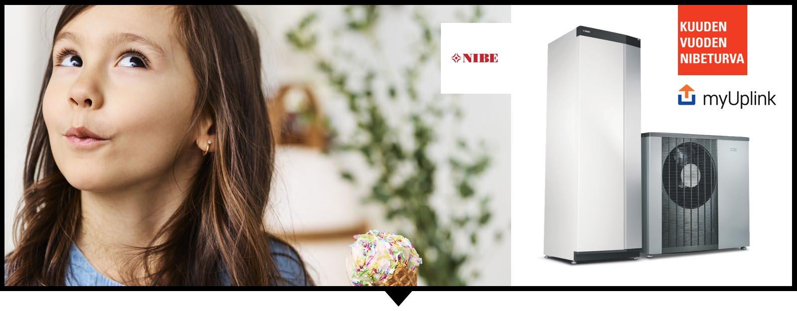 NIBE -Lämmitysjärjestelmä kotiisi tai kiinteistöihin