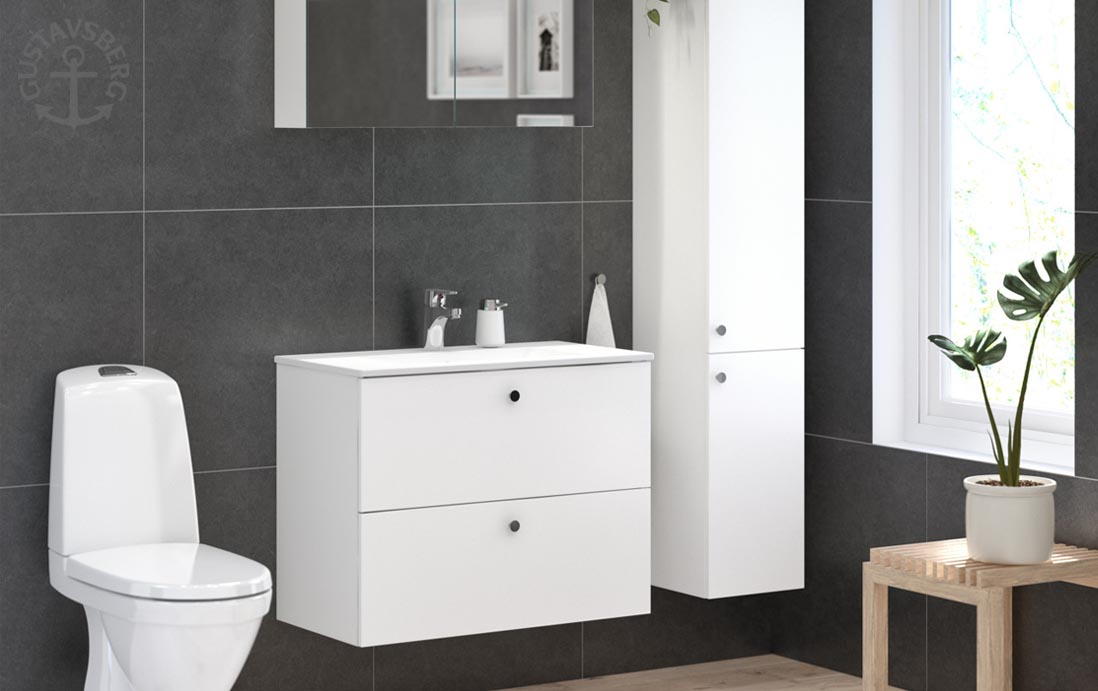 GUSTAVSBERG -laadukkaat wc- ja suihkutilan tuotteet